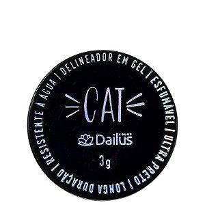 Delineador em Gel Dailus Cat 02 Preto