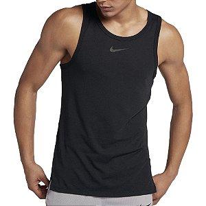 Regata Elite Top Preto Nike - Masculina