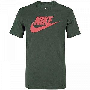 Camiseta Nike Sportswear Icon Futura Masculina - Verde