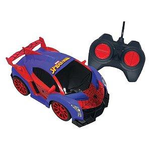 Veículo de Controle Remoto Spider-Man Webmaster - Candide