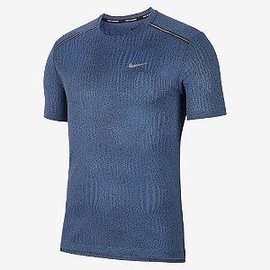 Camiseta Nike Dri-FIT Miler Masculina - Azul