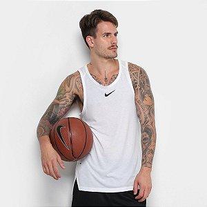 Regata Nike Elite Top Masculina - Branco