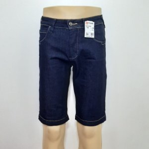 Bermuda Jeans Tripé Masculina