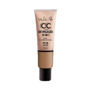 Base CC Cream Antipoluição 10 em 1 MB04 30ml- Vult