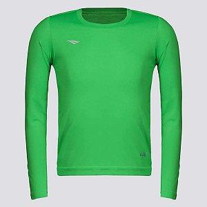 Camiseta Penalty Matis Manga Longa Infantil Verde
