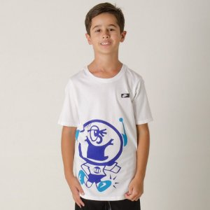 Camiseta Nike Sportswear Air Max Guy Infantil - Branca