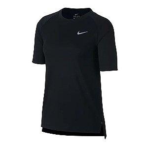 Camiseta Nike Breathe Feminina - Preta