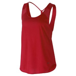 Regata Nike Breathe Strappy Feminina - Vermelha