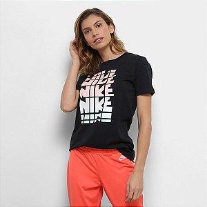 Camiseta Nike Nsw Feminina - Preta