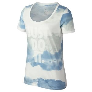 Camisa Nike NSW Scoop JDI Feminina- Branca