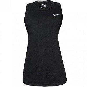 Regata Nike Breathe Tailwind Feminina - Preta