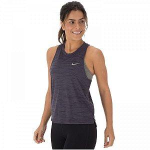 Regata Nike Miler Tank Slub Feminina