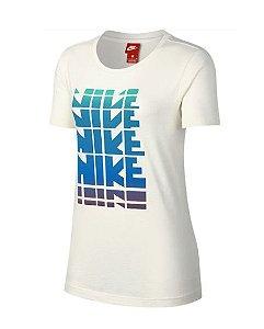 Camiseta Nike Nsw Feminina - Branca