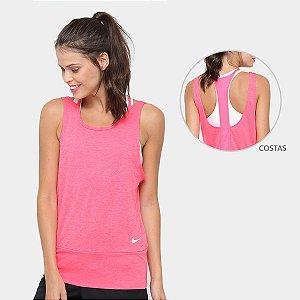 Regata Nike Dry Tank Loose Feminina - Rosa