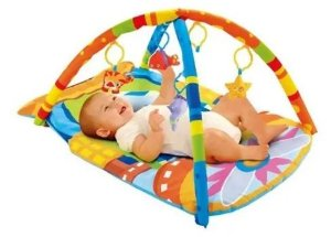 Ginásio Divertido Do Bebê Avião Kitstar - Infantil