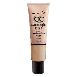Base CC Cream Antipoluição 10 em 1 MB02 30ml- Vult
