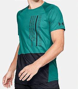 Camisa Colorblock Under Armour - Masculino