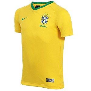 Camiseta Nike Brasil Infantil Unissex