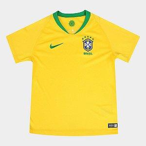 Camisa Nike Brasil Infantil Unissex