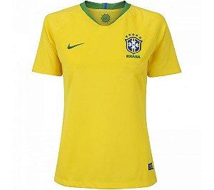 Camisa Nike Brasil Feminina