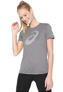 Camiseta Running Logo Asics - Feminino
