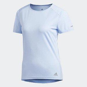 Camisa Adidas Run Tee Branca Feminina