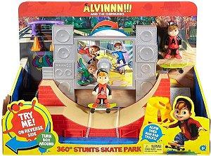 Alvin E Os Esquilos Pista de Skate Radical Mattel