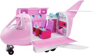 Barbie Real Avião De Luxo Mattel