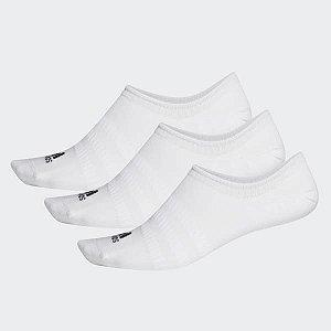 Meias Invisíveis 3 Pares Adidas