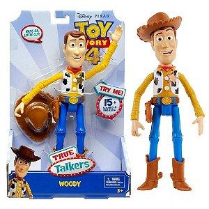 Toy Story 4 - True Talkers Woody Com Sons - Mattel