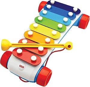 Novo Xilofone Fisher-Price Mattel