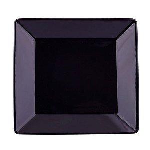 Prato Oxford Raso 26,5X26,5cm Black Ga022006
