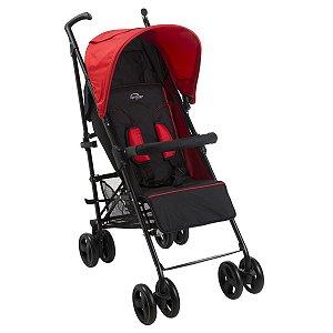 Carrinho de Bebê Sprinter Red Black Burigotto