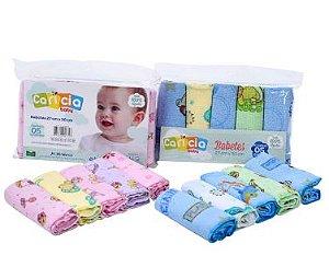 Kit 5 Babetes Felpa Minasrey - Infantil