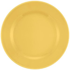 Prato Oxford Raso 24cm Amarelo Ae025014
