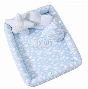 Colchonete Azul Bebê Kids Alvinha Minasrey- Infantil