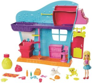 Polly Pocket Conjunto Spa Dos Bichinhos Mattel