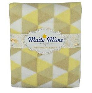 Cobertor Bege Muito Mimo Minasrey- Infantil