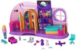 Polly Pocket Quarto Transformável Da Polly Mattel