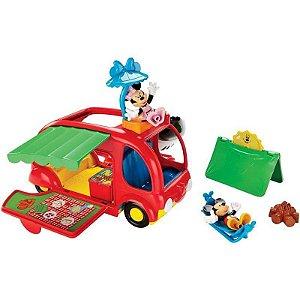 Mickey Mouse Clube House Novo Camping Do Mickey Mattel