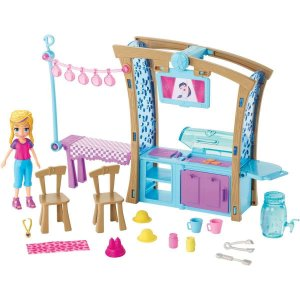 Polly Pocket Churrasco Divertido Mattel
