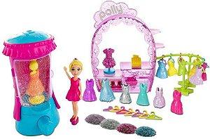 Conjunto Glitterizador da Polly Pocket Mattel
