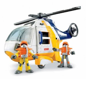 Helicoptero Fisher Price Imaginext Aventura - Mattel