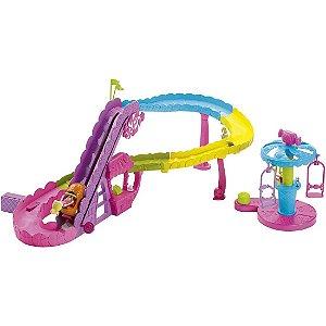 Polly Pocket Parque de Diversões Montanha Russa Mattel