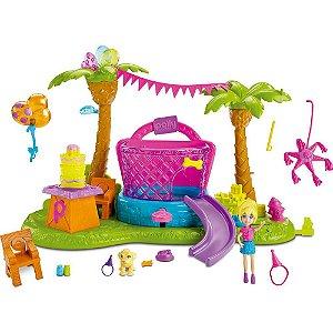 Polly Pocket Festa de Aniversário Pet Mattel