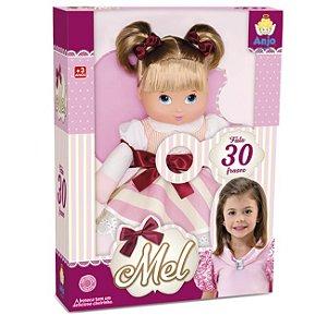 Boneca Anjo Mel 2024 - Brinquedos Anjo