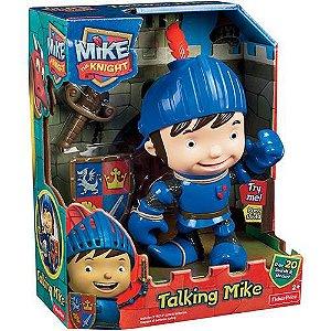 Mike, O Cavaleiro Com Sons de Treinamento Mattel