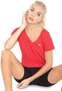 Camiseta Fila Dots Feminina