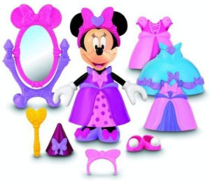Minnie Princesa Disney Mattel