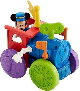 Mickey Mouse Robô Trem Engenhoca Mattel